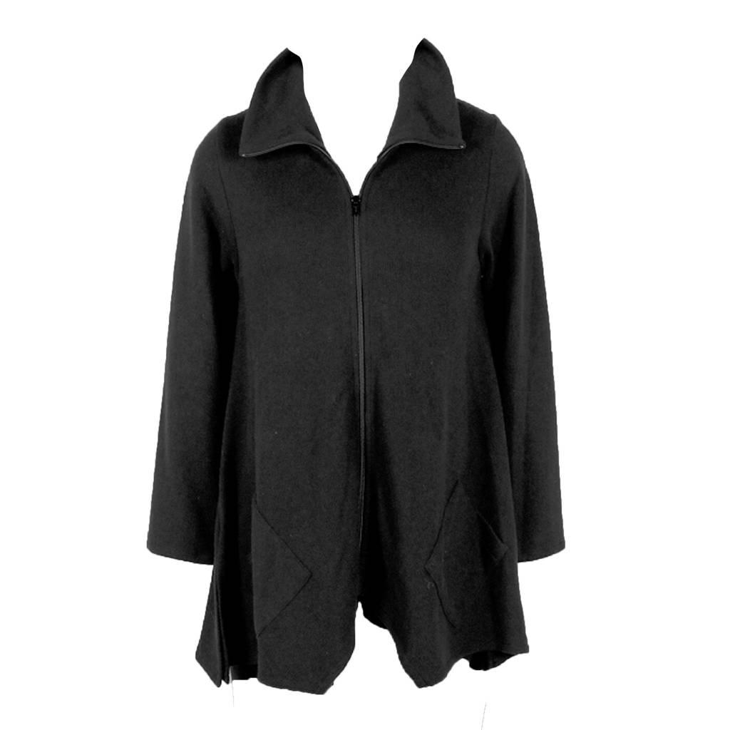 Fat Hat Fat Hat Sassy Cowl Jacket - Black