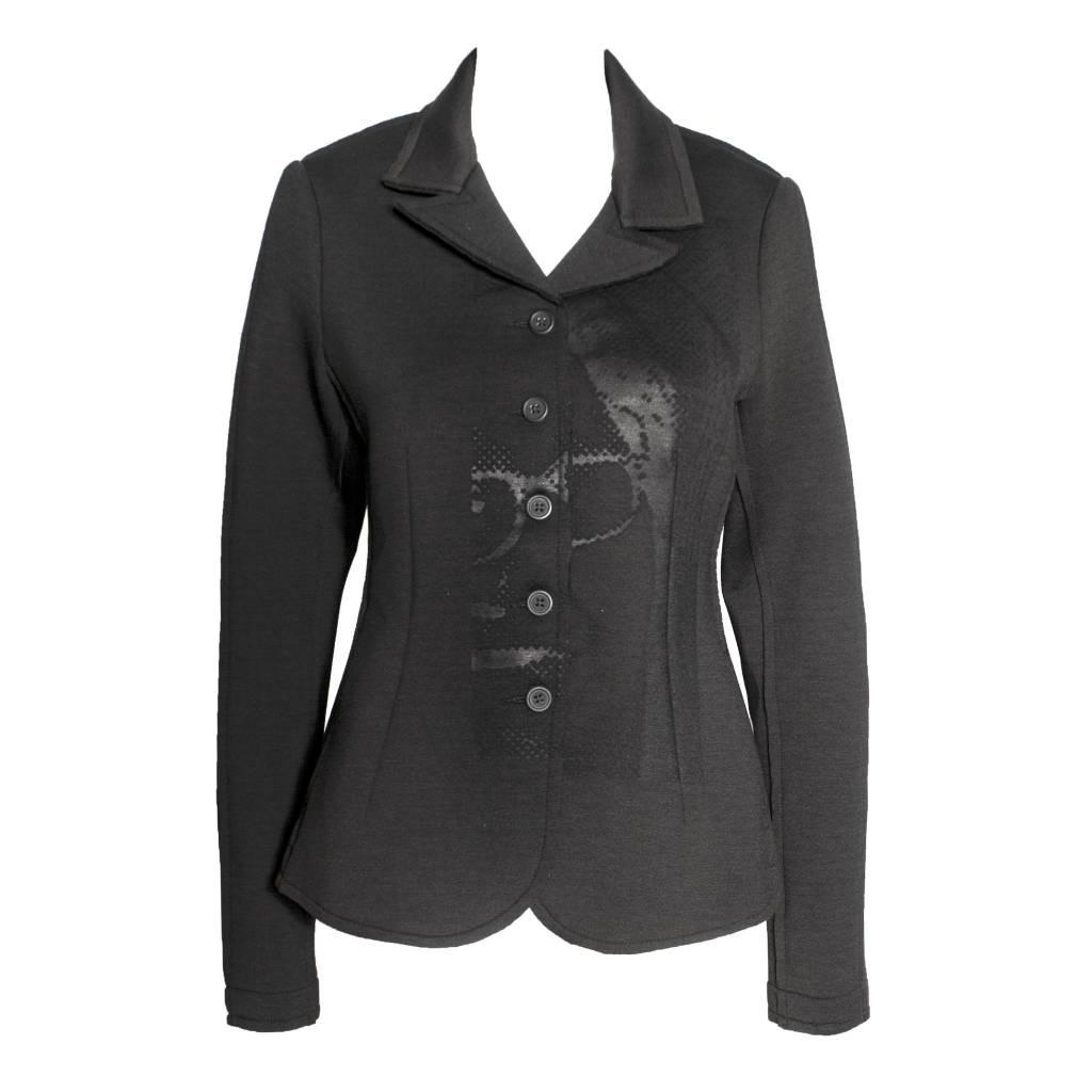 Studio Rundholz Studio Rundholz Collared Jacket - Black Print