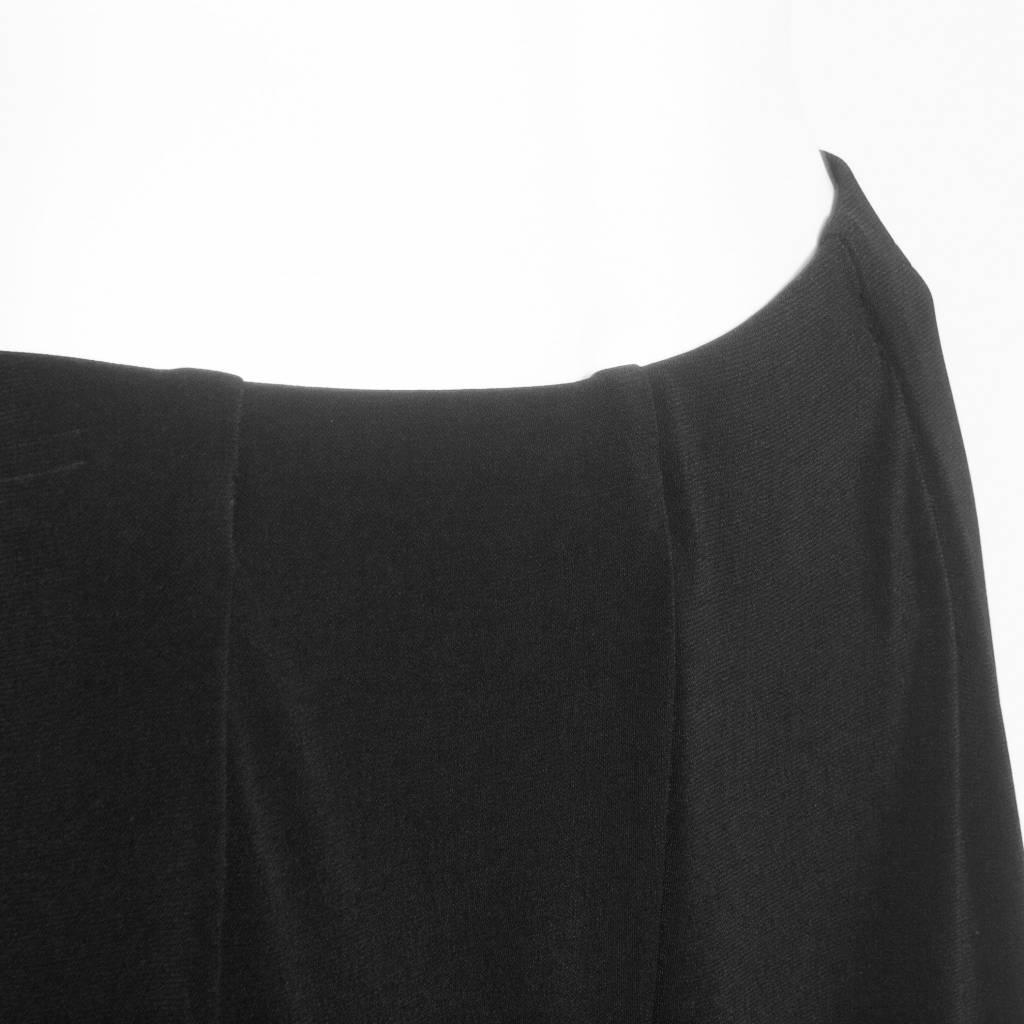 Xiao Xiao Cropped Pants - Black