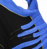 Xiao Xiao Stacked Kylie Tunic - Black/Blue