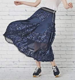HIGH HIGH Concept Skirt - Navy