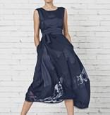 HIGH HIGH Illusion Dress - Navy