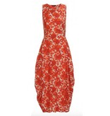 HIGH HIGH at Lenght Dress - Red/White