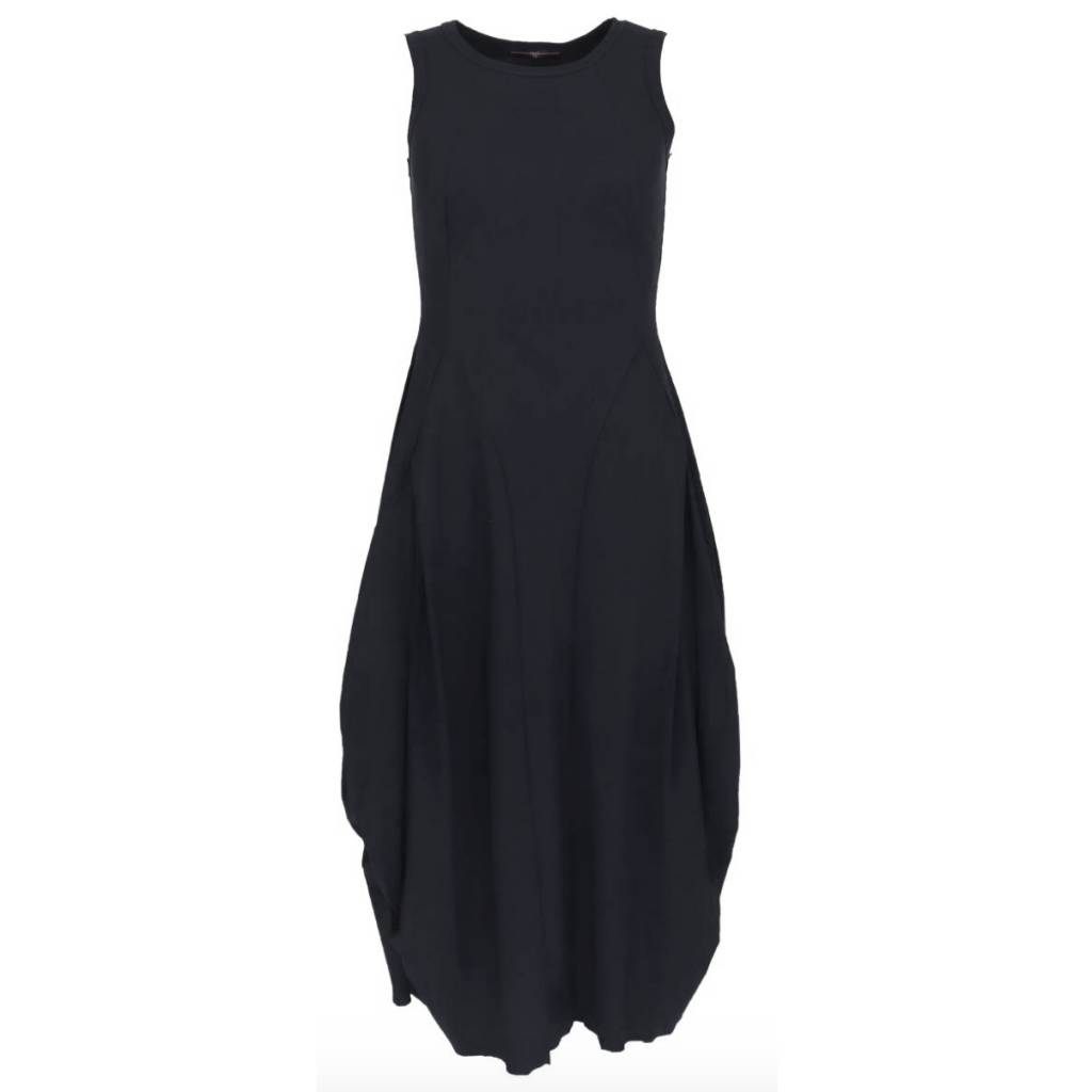 HIGH HIGH at Lenght Dress - Black