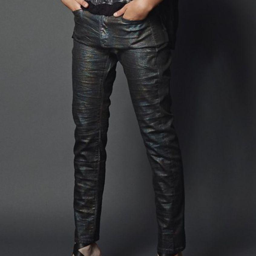 Alembika Alembika Dark Pearl Print Pants - Multi