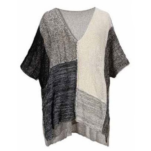 Alembika Alembika Blocked Sweater - Pebble