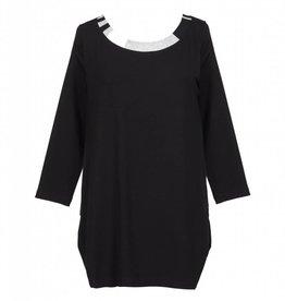 Alembika Alembika Verti Collar Long Sleeve - Black