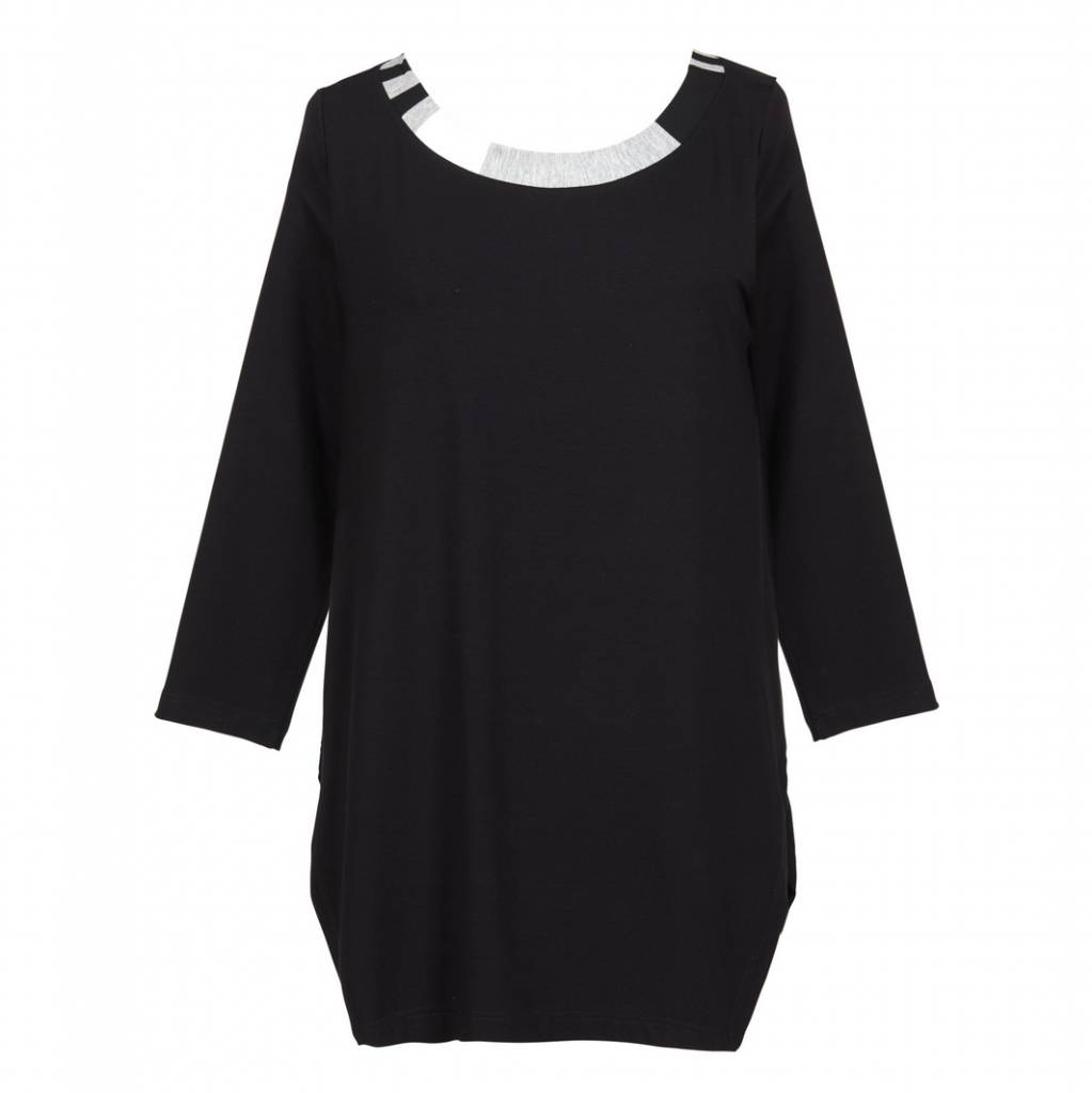Alembika Alembika Verti Collar Long Sleeve - Black