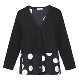 Alembika Alembika Half Dot Short Cardigan - Black