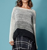 Alembika Alembika Oversized Blocked Sweater - Cream