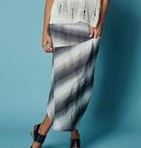 Alembika Alembika Horizon Print Skirt - Smoke