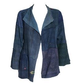 Mieko Mintz Mieko Mintz Short Frayed Jacket - Indigo