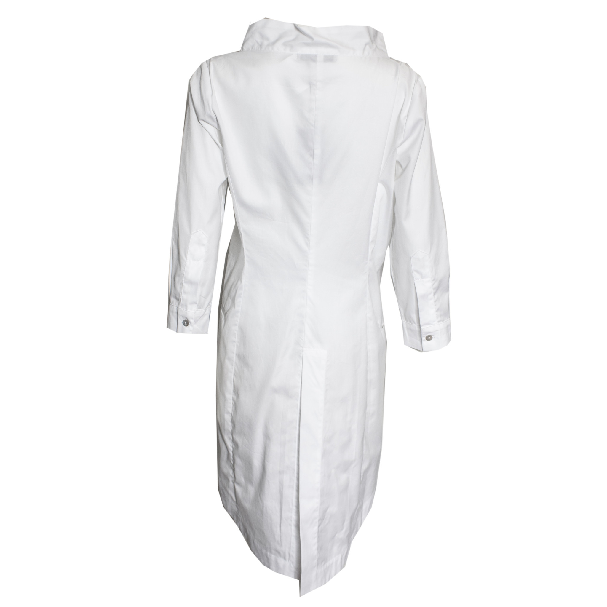 Matthildur Matthildur Pima Button Down Tunic - White