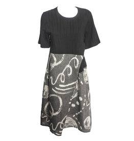 Yoshi Yoshi Yoshi Yoshi Wrap Dress - Black