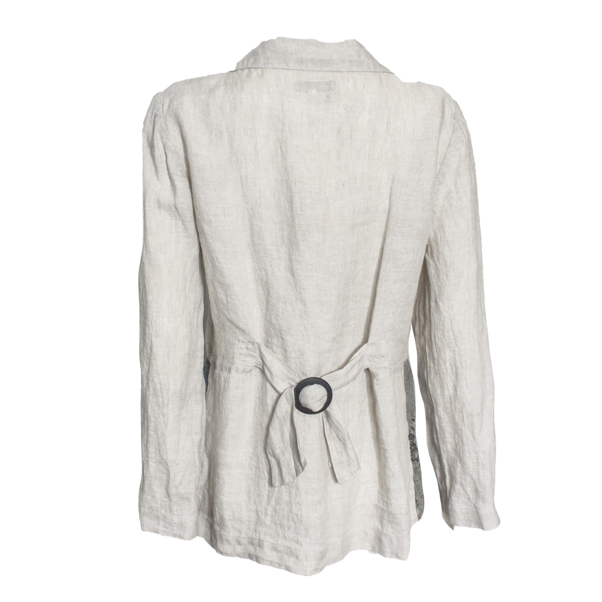 Mara Gibbucci Mara Gibbucci Patchwork Jacket - Ivory