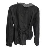 Mara Gibbucci Mara Gibbucci Abstract Stitch Jacket - Black