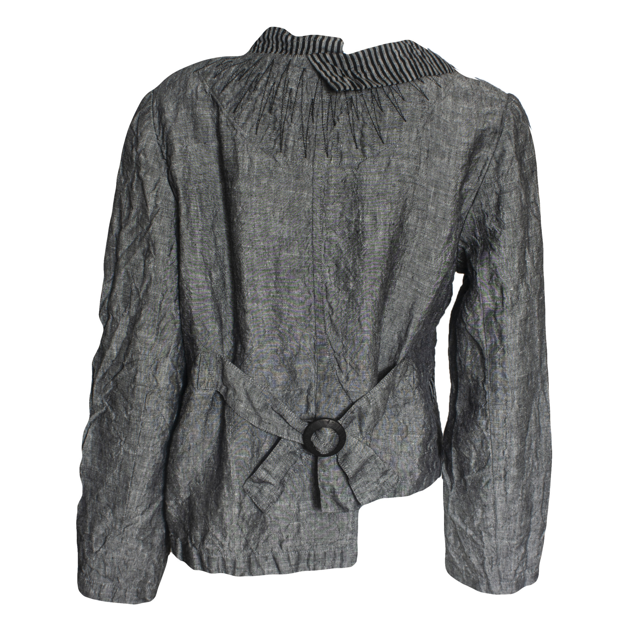 Mara Gibbucci Mara Gibbucci Abstract Stitch Jacket - Grey