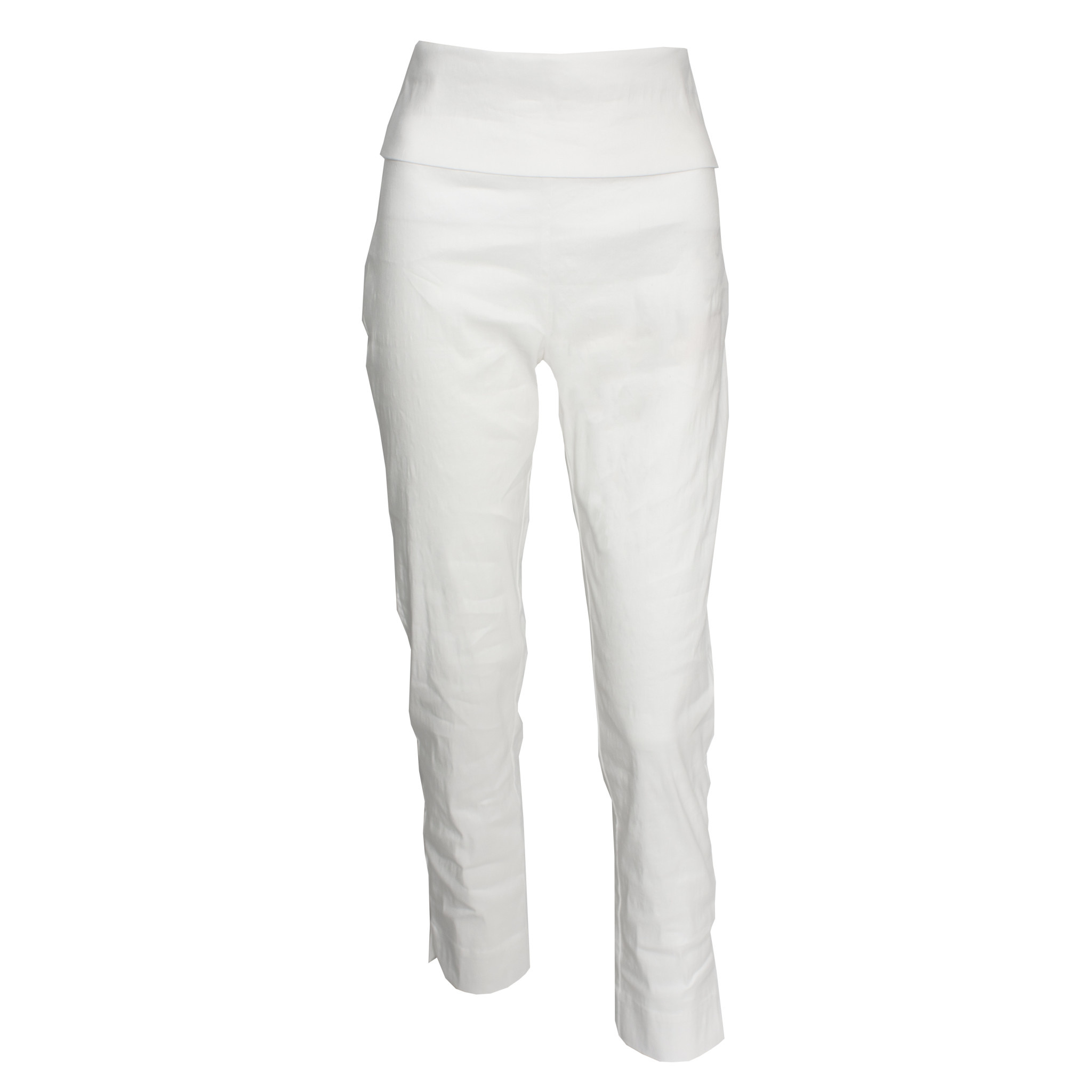 Crea Concept Crea Concept Crepe Foldover Pants - Cream