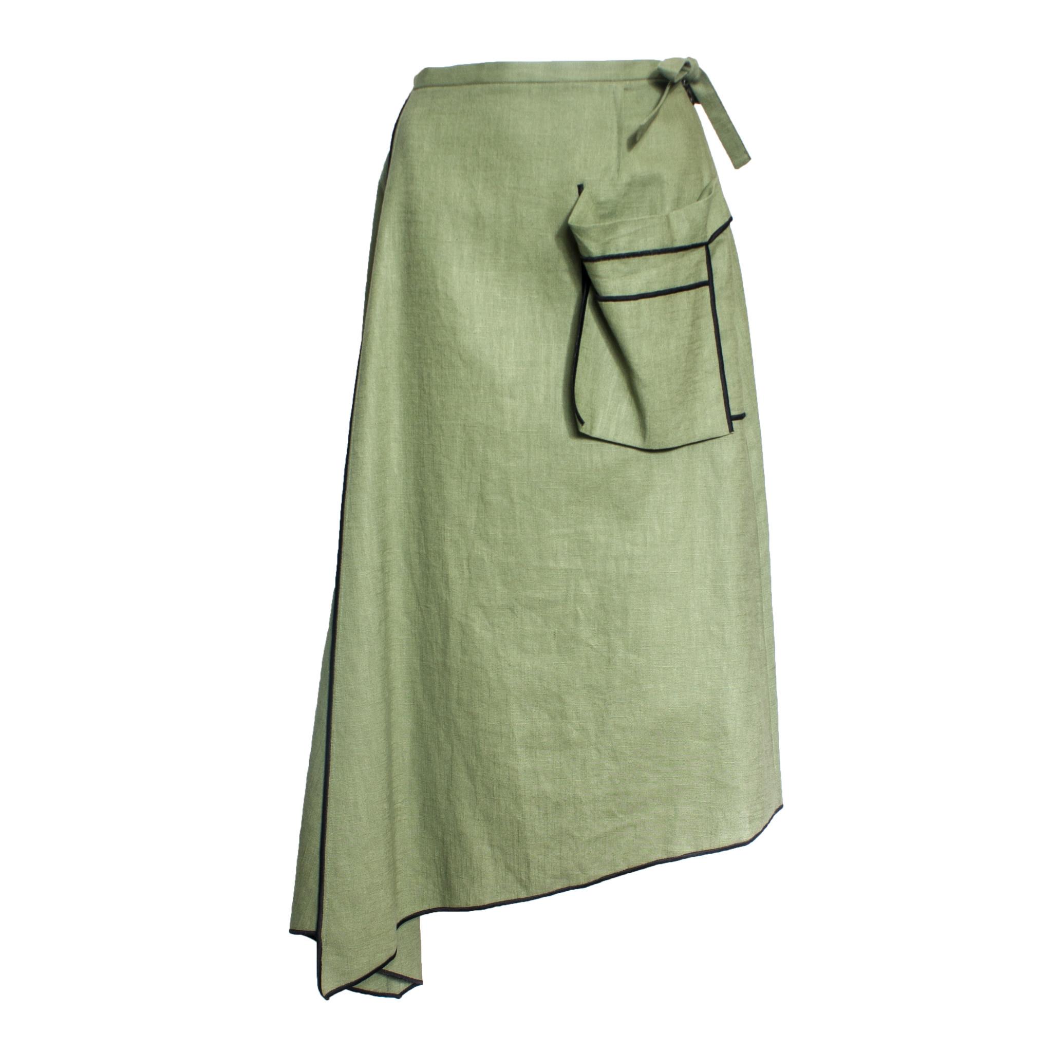 Xenia Xenia Kive Pocket Skirt - Olive