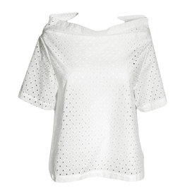 Xenia Xenia Kaja Short Sleeve - White