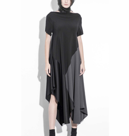 Xenia Xenia Deks Short Sleeve Dress - Black