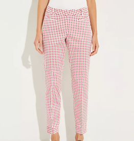 Cambio Cambio Ros Summer - Red Houndstooth