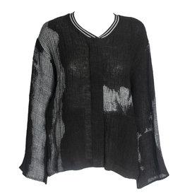 Kedziorek Kedziorek Plaid Dye Jacket - Grey/Black