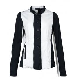 Studio Rundholz Studio Rundholz Wide Stripe Print Jacket - Black