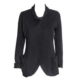 Studio Rundholz Studio Rundholz Button Down Jersey Jacket - Black