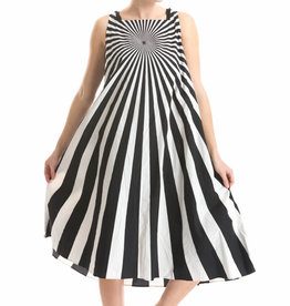 Studio Rundholz Studio Rundholz Optical Print Dress - Black/White
