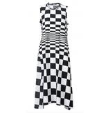 Studio Rundholz Studio Rundholz Check Design Dress - Black/White