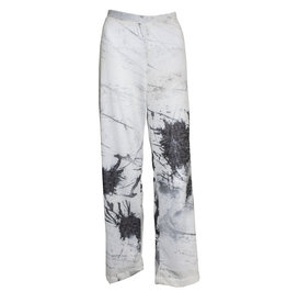 Ingrid Munt Ingrid Munt Canvas Print Pants - White