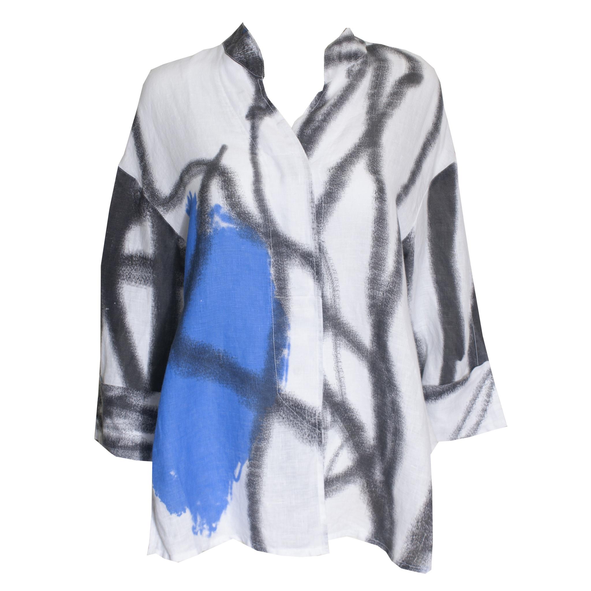 Banana Blue Banana Blue Paint Stroke Shirt