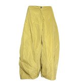 Sun Kim Sun Kim Two Pocket Ankle Pants - Chartreuse