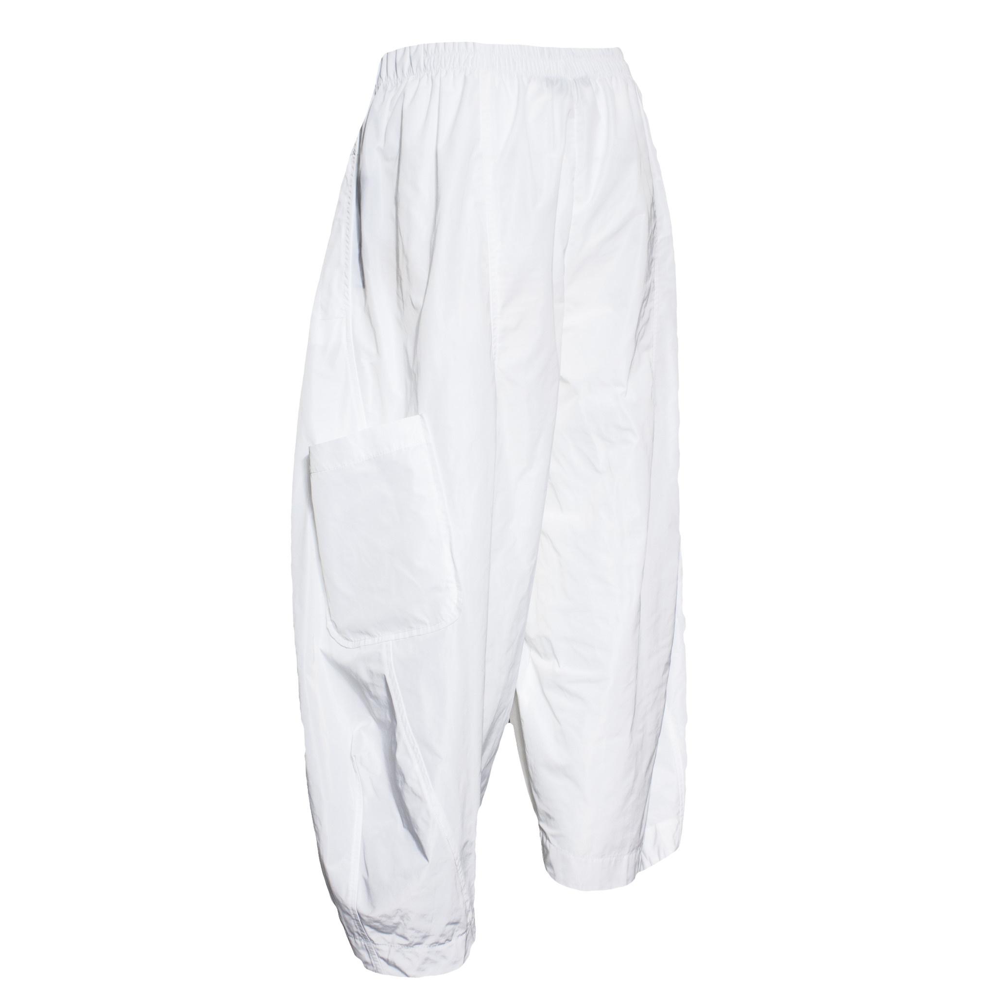 Sun Kim Sun Kim Two Pocket Ankle Pants - White