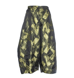 Sun Kim Sun Kim Two Pocket Ankle Pants - Stamp Print