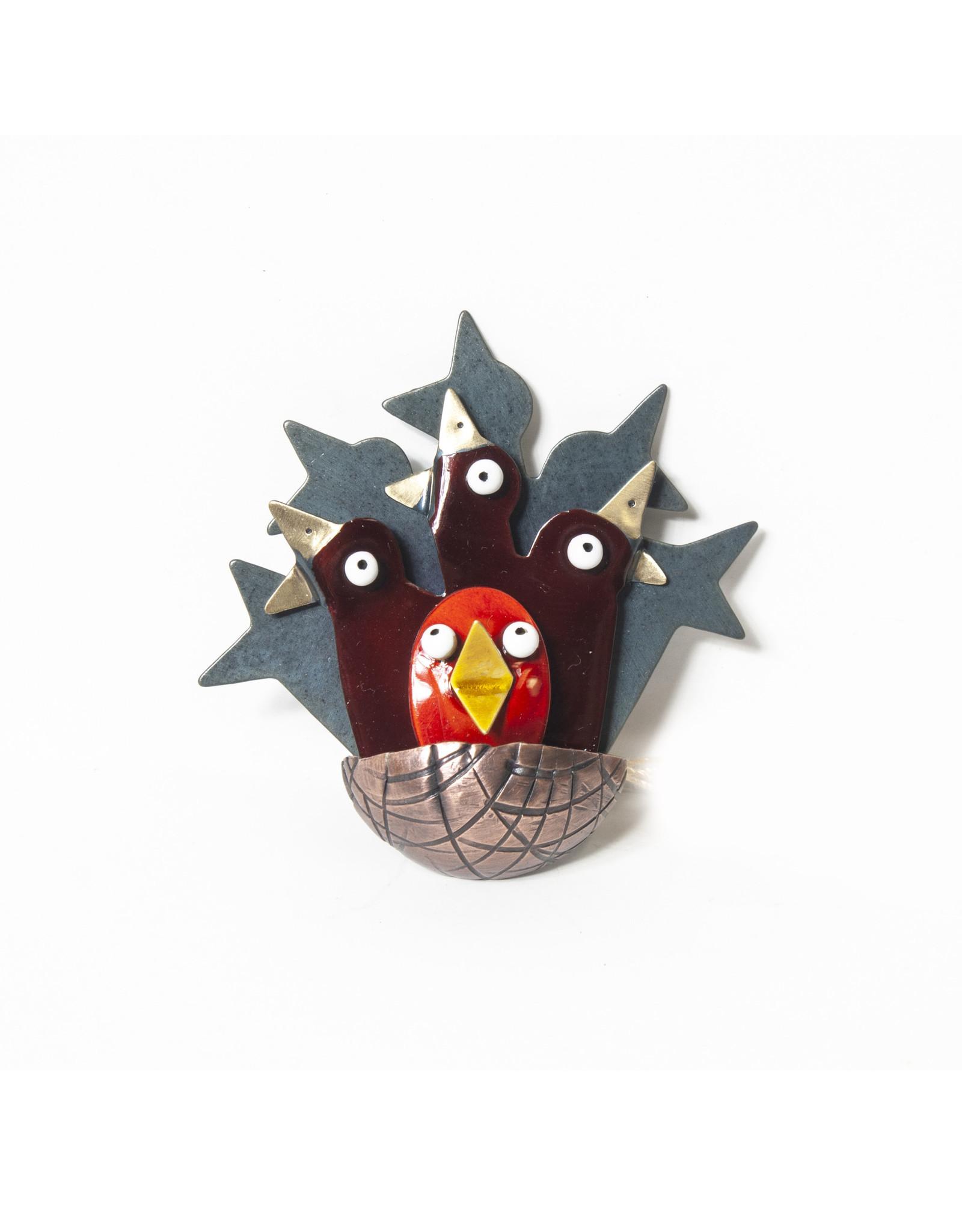 Chickenscratch Chickenscratch Full Nest Pin