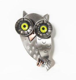 Chickenscratch Chickenscratch Wise Owl Pin