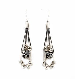 Zzan Jewelry Zzan Jewelry Dangle Bead Earrings