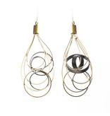 Zzan Jewelry Zzan Jewelry Dangle Ring Earrings
