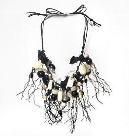 Teresa Goodall Teresa Goodall Agatha Lace Glass Beaded Necklace