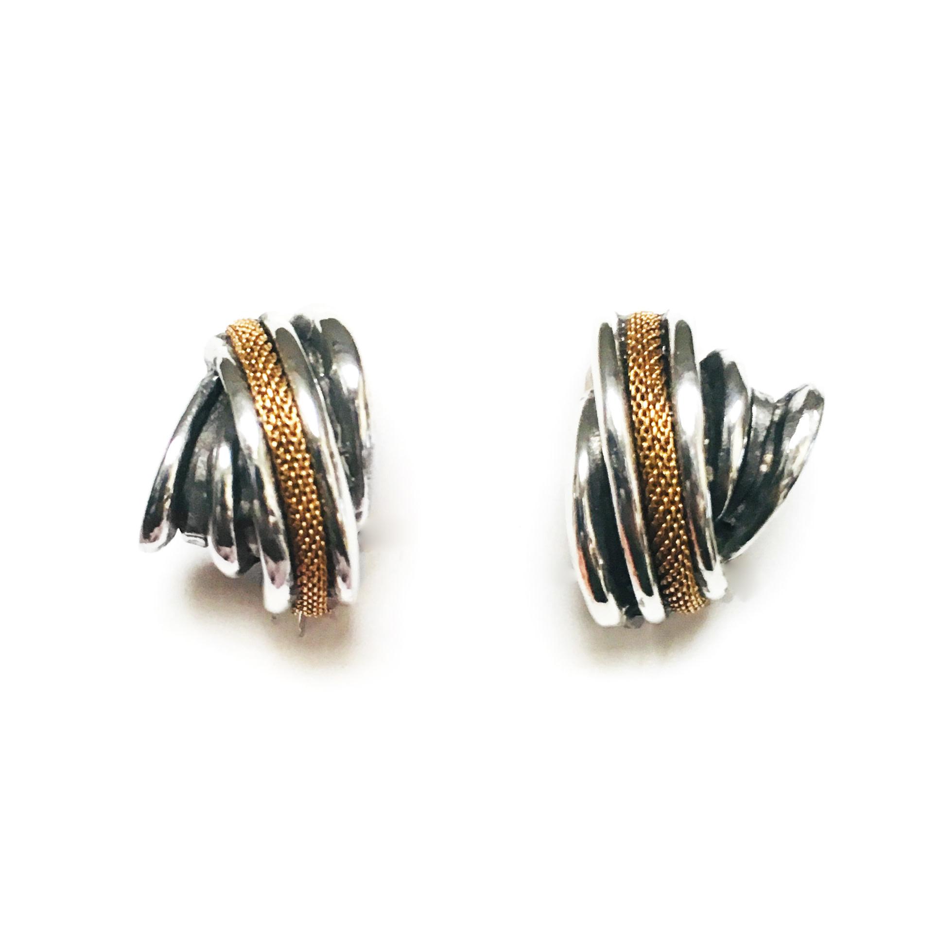 Fahrenheit Fahrenheit Grate Earrings