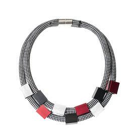 Christina Brampti Christina Brampti Double Strand Cube Necklace