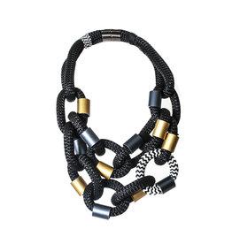 Christina Brampti Christina Brampti Woven Chain Necklace