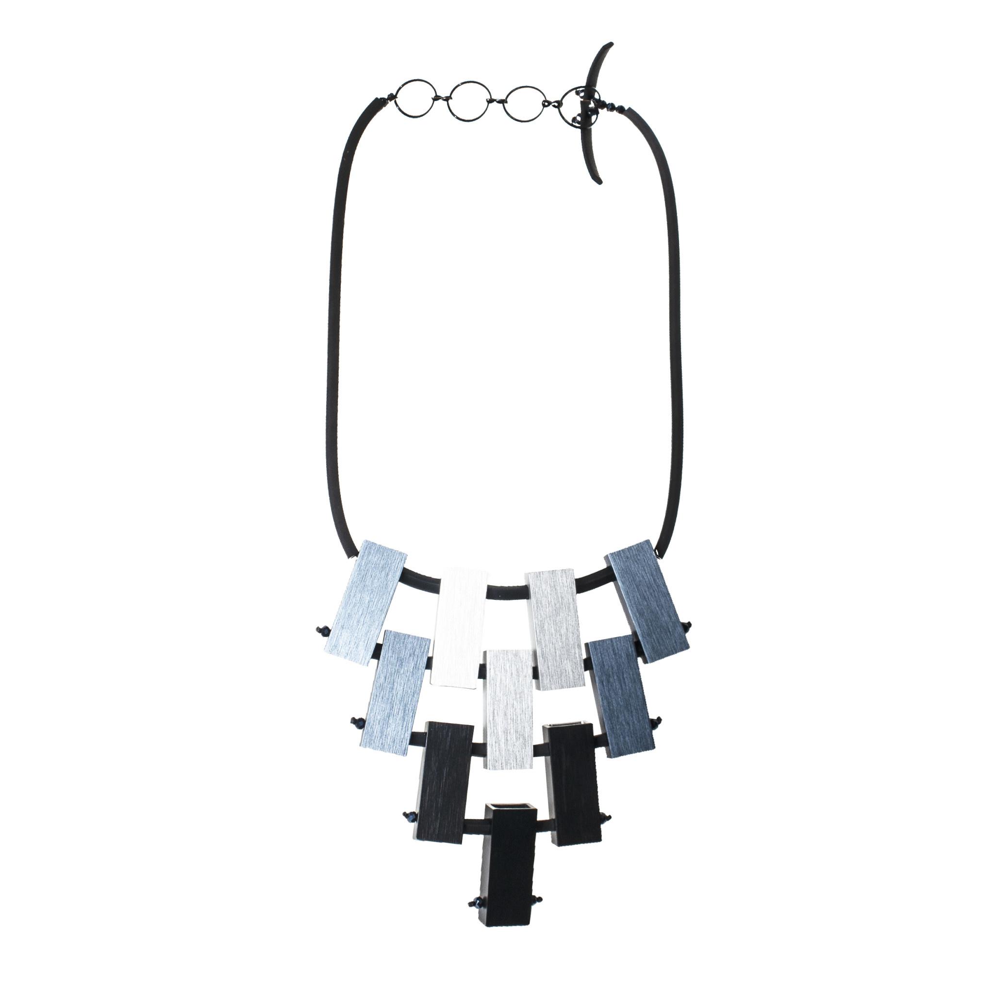 Christina Brampti Christina Brampti Aluminium Bar Necklace