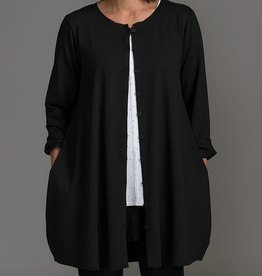 Fat Hat Fat Hat Fun Lovin Tunic - Black