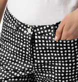 Cambio Cambio River Pants - Black Speckle