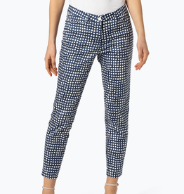Cambio Cambio River Pants - Navy Speckle