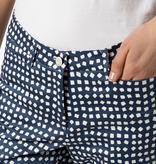 Cambio Cambio River Pants - Navy Speckle