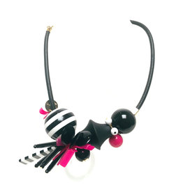 Antura Antura Collana Fuxia Necklace